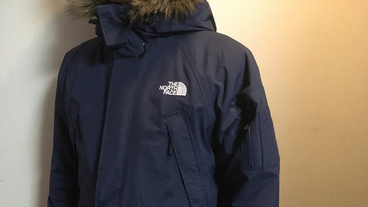 ノースフェイス グレーストリクライメイトジャケット