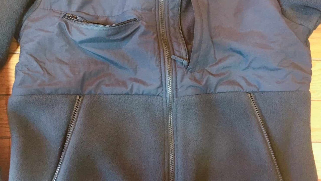 ノースフェイス デナリジャケット 前面には4つのポケット