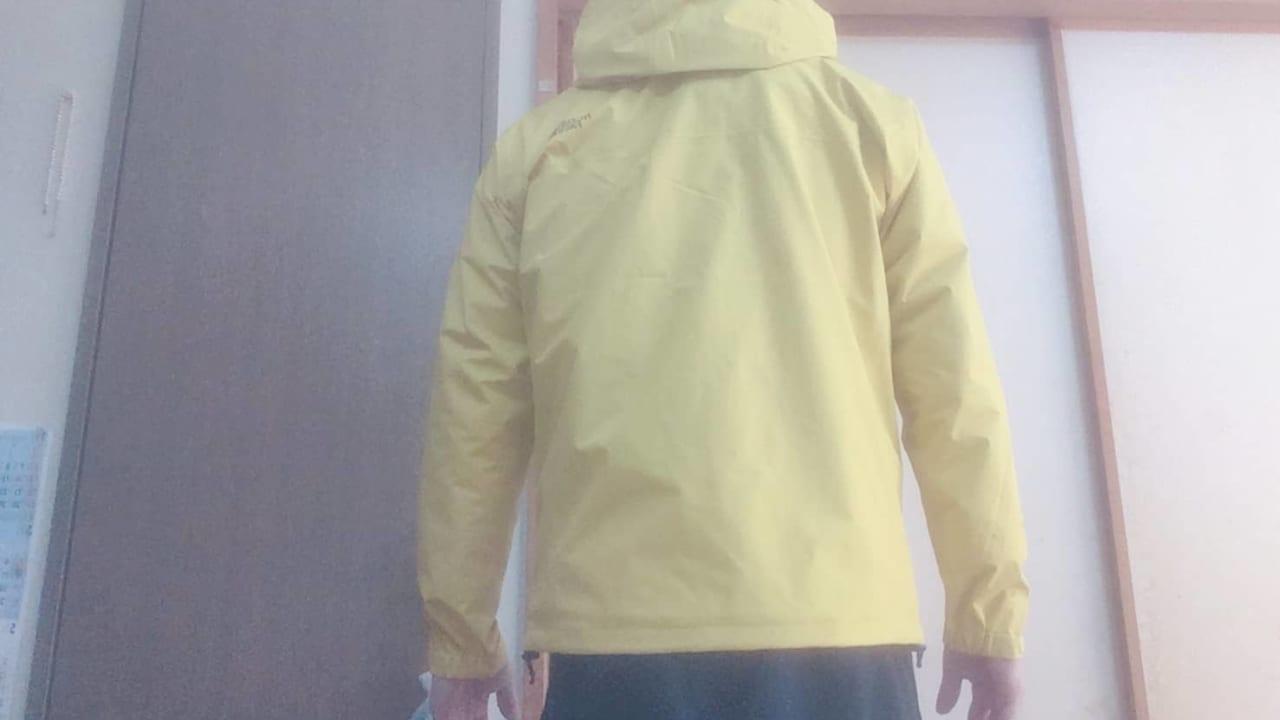 ノースフェイス クラウドジャケット 背面