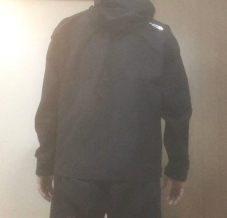 ノースフェイス エボリューションジャケット 背面着用感