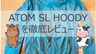 アークテリクス ATOM SL HOODY