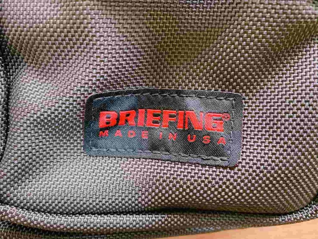 ブリーフィング NEO B4 LINER ロゴ