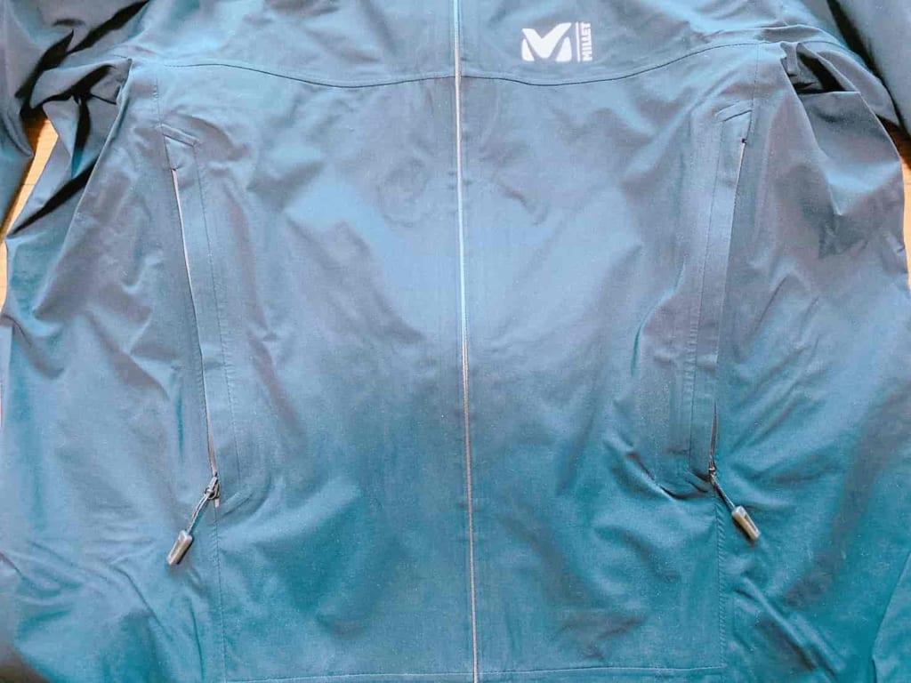ミレー ティフォン50000ジャケット 前面