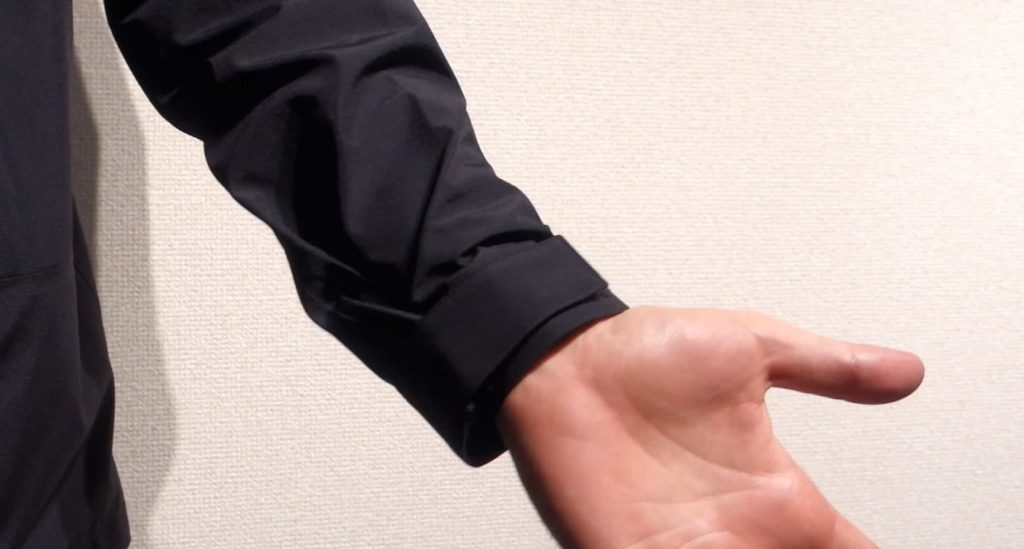 ノースフェイス オールマウンテンジャケット 袖